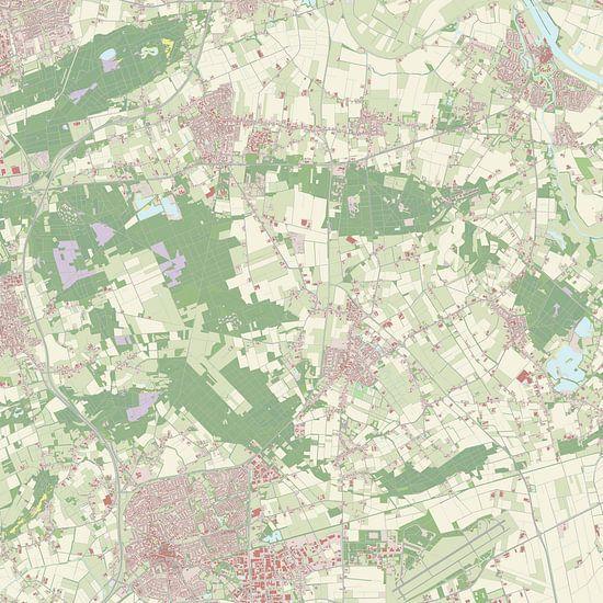 Kaart vanLanderd