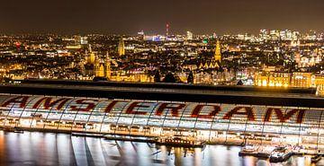 Amsterdam Central Station van Madan Raj Rajagopal