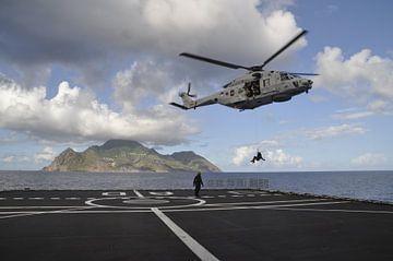 Marine helicopter op oefening von Gilian Fijen