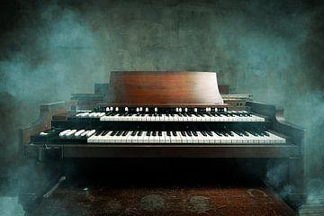 Organe de la roue des sons sur Bert-Jan de Wagenaar