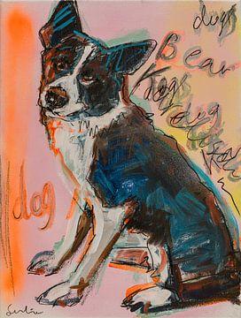 Karolingischer Bärenhund von Liesbeth Serlie