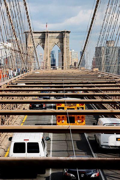 new york city ... brooklyn bridge V van Meleah Fotografie