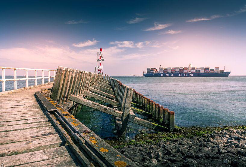 Vlissingen Zeeland Nederland van Wim van D