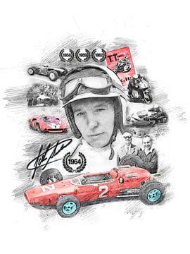 John Surtees van Theodor Decker