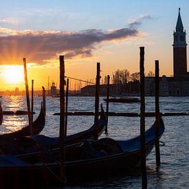 Sonnenaufgang in Venedig von Andreas Müller