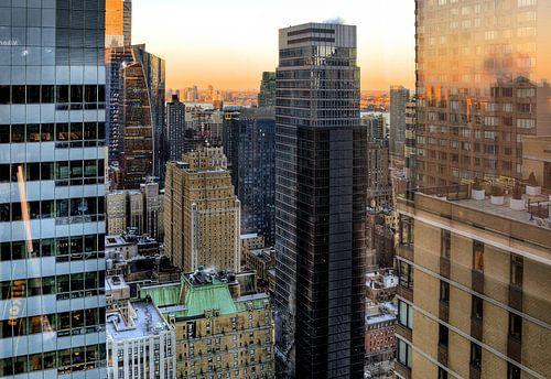 Uitzich over Manhattan von Sigrid Klop