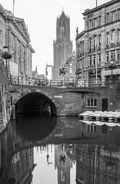 Domtoren und Oudegracht in Utrecht. von Mike Peek