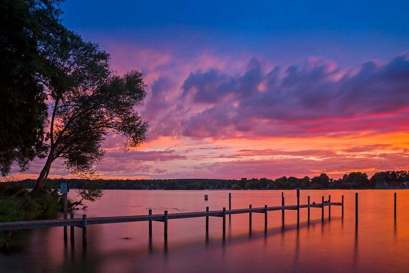 Wannsee Sonnenuntergang von Heiko Lehmann