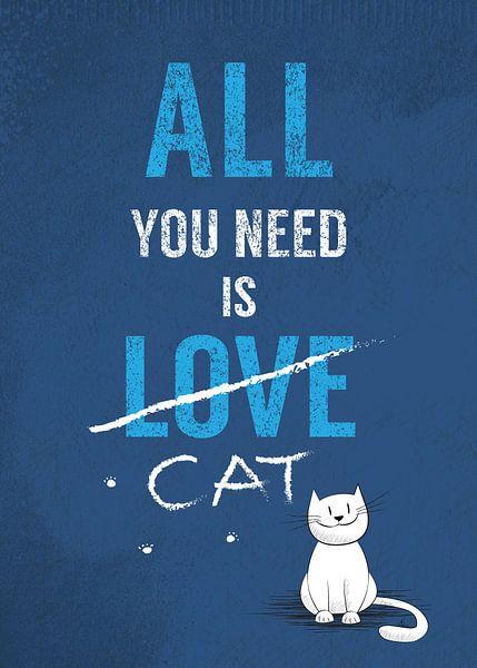 All you need is cat van Joanna Cieslinska