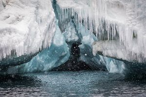 IJstunnel Antarctica van