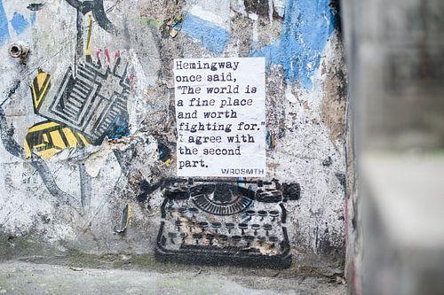 Graffiti Kunst Berlijn  van