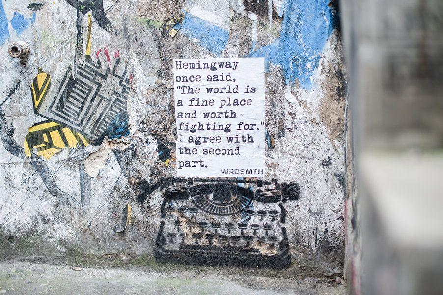 Graffiti Kunst Berlijn  van Lisenka l' Ami