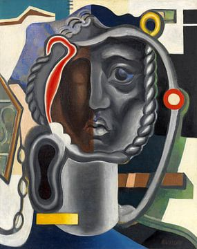 Mechanisch hoofd, WLADIMIR BARANOFF-ROSSINÉ, ca 1925-1928 van Atelier Liesjes
