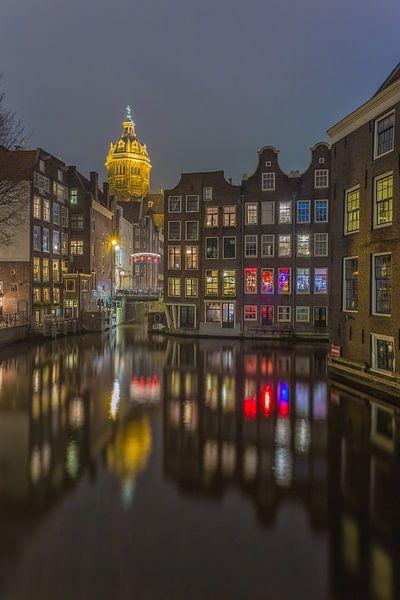 Amsterdam by Night - Oudezijds Voorburgwal - 5