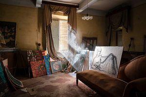 Verlaten Kunst in Huis.