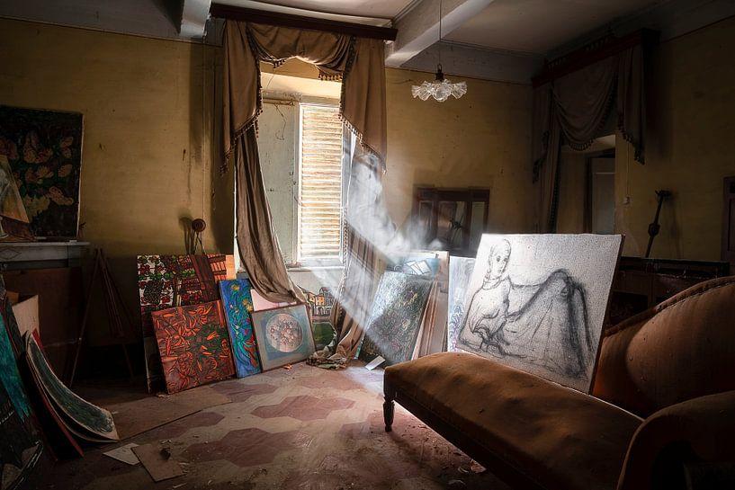 Verlaten Kunst in Huis. van Roman Robroek