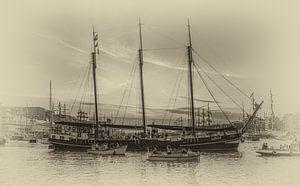 Zeilklipper Linde op Sail Amsterdam 2015