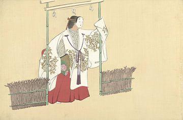 Nonomiya von Kamisaka Sekka, 1909