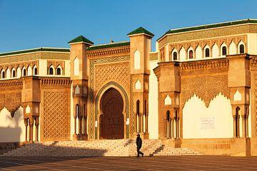 Hassan II Moskee, Agadir, Marokko, van Markus Lange