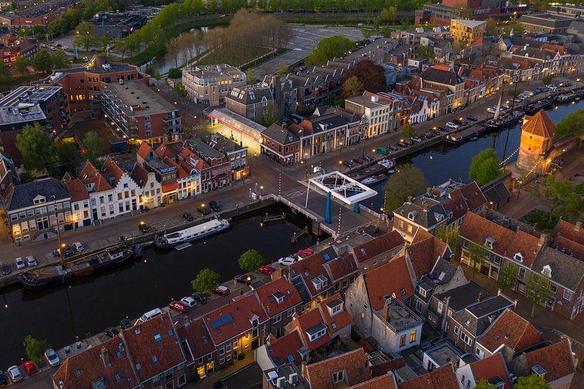 Thorbecke gracht Zwolle van Thomas Bartelds