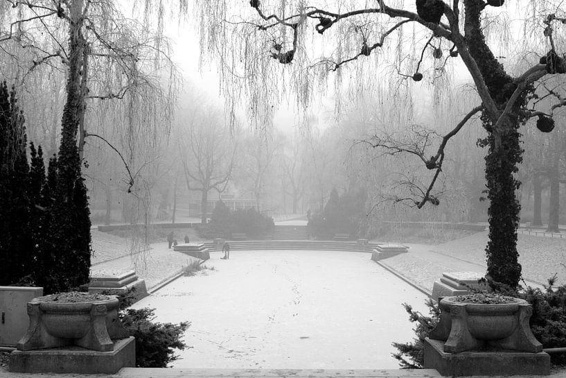 Noorderplantsoen in de Winter 6 van Ronald Hulsebos