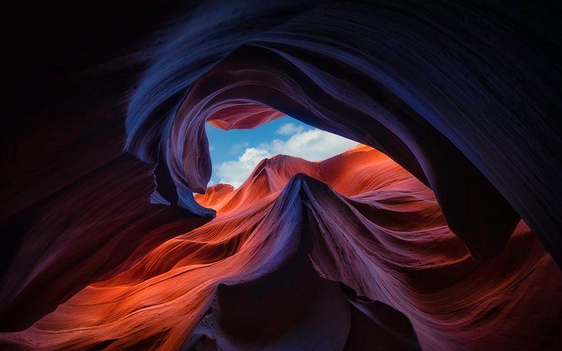 Antelope Canyon, Michael Zheng van 1x
