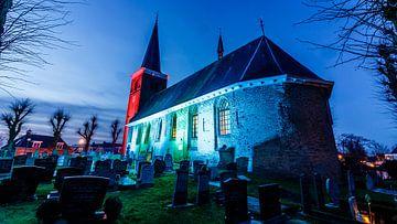 L'église sous une belle lumière sur Jaap Terpstra