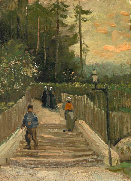 Vincent van Gogh, Weg te Montmartre van 1000 Schilderijen