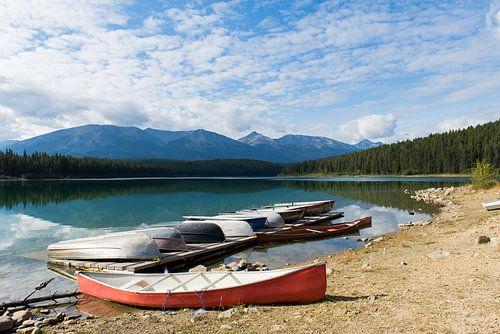 Patricia Lake, Jasper National Park van