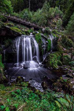 Tribergse waterval van Julia Schellig