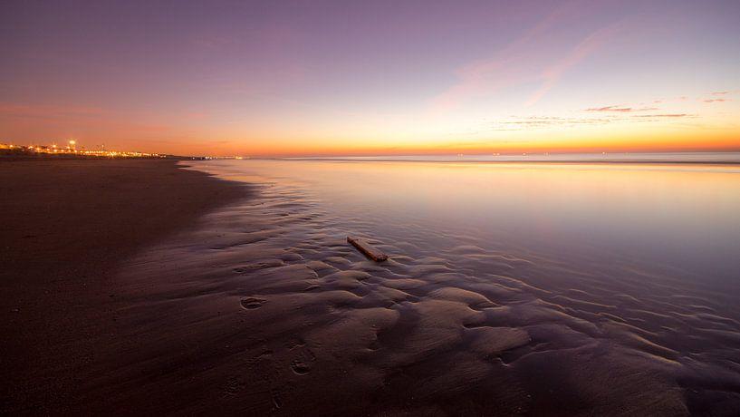 Zeezicht in Katwijk van Dirk van Egmond