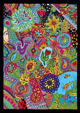 Happy Doodle van Esther  van den Dool