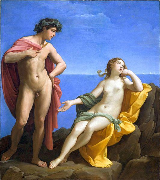 Bacchus und Ariadne - Guido Reni, 1620 von Atelier Liesjes