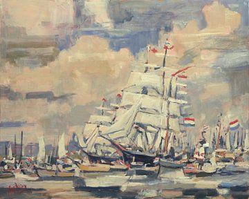 Segeln Amsterdam von Nop Briex