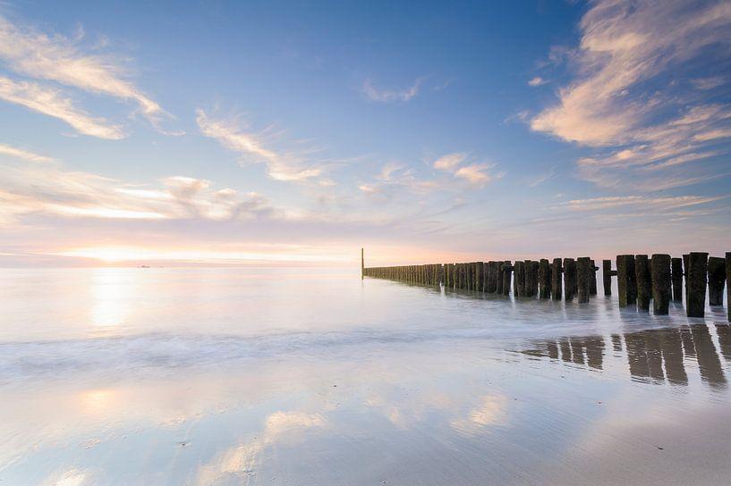 Domburg beach van Arjan Keers