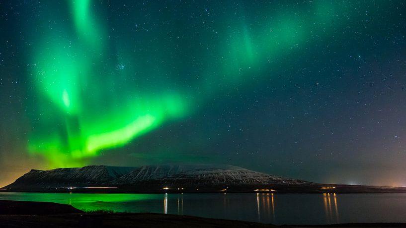 Het Noorderlicht in IJsland van Jasper den Boer
