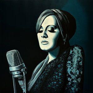 Adele Skyfall schilderij
