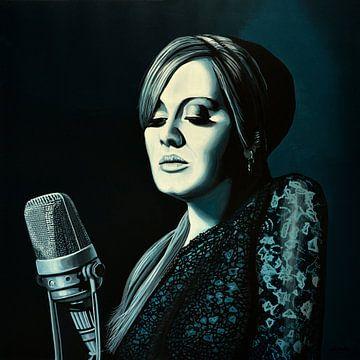 Adele Skyfall schilderij von Paul Meijering