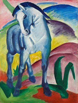 Blaues Pferd I, Franz Marc