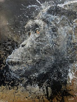 Chimpansee van Peter van Loenhout