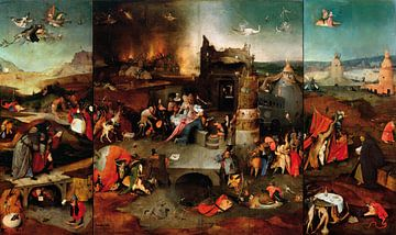 De verleiding van de heilige Antonius, Jheronimus Bosch
