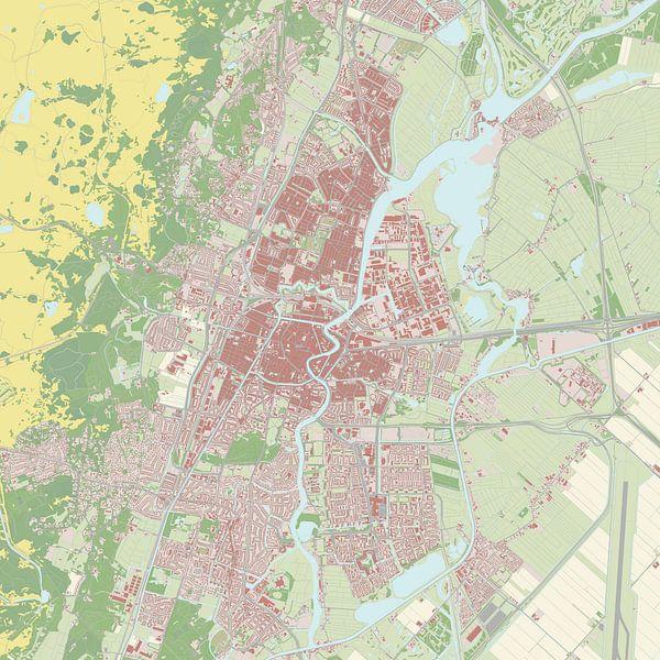 Kaart vanHaarlem