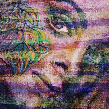 Portrait einer Frau von ART Eva Maria