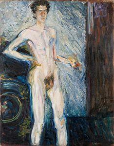 Nude Self-Portrait with Palette, Richard Gerstl
