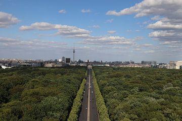 La ligne d'horizon de Berlin sur Sijbren Kuiken