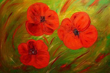 Mohnblüten van Babetts Bildergalerie