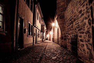 De oude stad van Erfurt van David Krause | Berlin