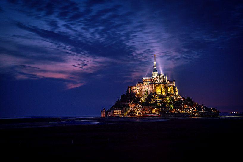 Majestic Mont St. Michel ..... van Robert Van Der Linde
