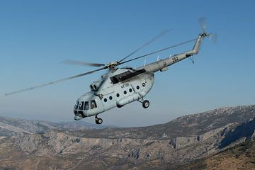 Kroatische Luchtmacht Mi-8 Hip van Dirk Jan de Ridder