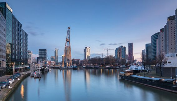 Leuvehaven in Rotterdam